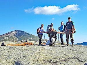 Adirondack experiences on Mt Skylight